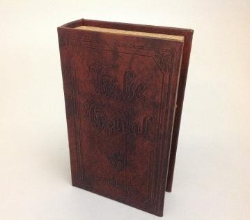 Шкатулка фолиант старинная книга