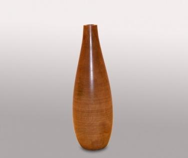 Ваза деревянная Mango узкое горло