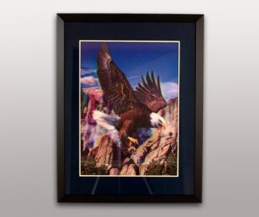 Картина объемная Орел