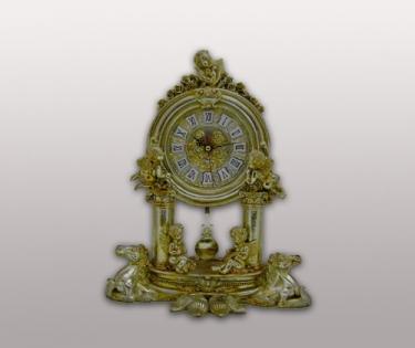 Часы настольные из полистоуна