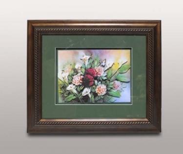 Панно декоративное Букет цветов