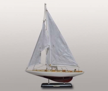 Модель Яхты из дерева