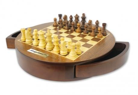 Набор шахмат с круглой доской Каспаров