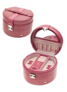 Шкатулка для украшений Jardin D'Ete розовая лакированная