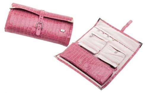 Шкатулка для украшений Jardin D'Ete бежевая розовая