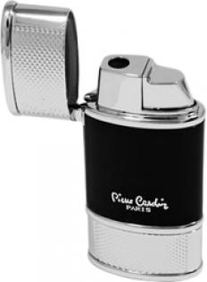 Турбо зажигалка Pierre Cardin сплав цинка черный лак