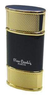 Зажигалка газовая Pierre Cardin черный лак золото