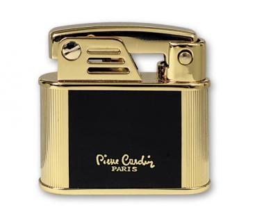Зажигалка Pierre Cardin черный лак золотистый