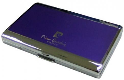 Портсигар Pierre Cardin фиолетовый лак