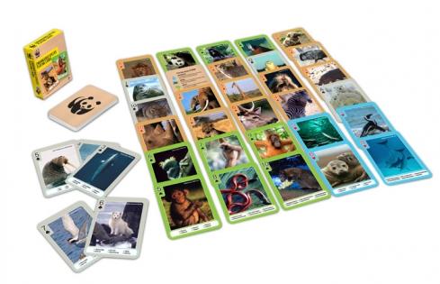 Игральные карты WWF Исчезающие виды