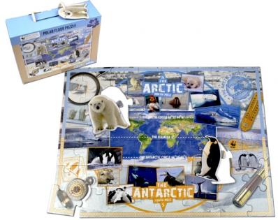 Пазл WWF Арктика и Антарктида