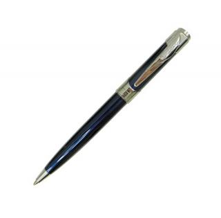 Шариковая ручка Pierre Cardin Les Plus синий хром