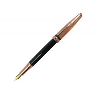 Перьевая ручка Pierre Cardin Espase розовое золото черный цвет
