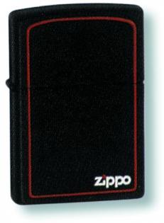 Зажигалка Zippo ZB Black Matte