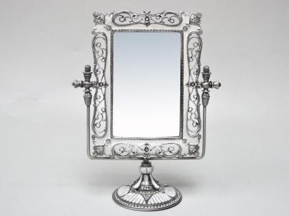 Зеркало из олова и стекла прямоугольное