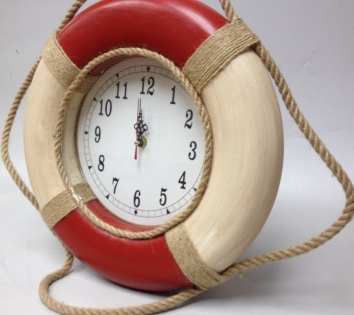 Часы настенные спасательный круг