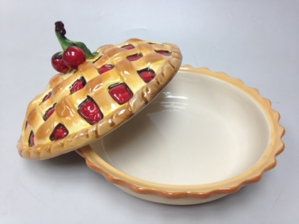 Тарелка фарфоровая для пирога