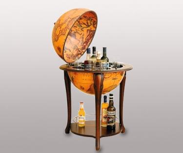 Глобус бар напольный Zoffoli диаметр сферы 50 см