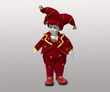Клоун в красном музыкальный