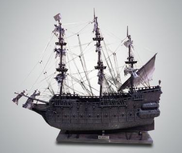 Модель парусника Flying Dutchman точная копия