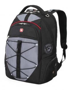 Рюкзак Wenger классический черно-серый