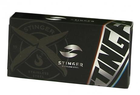 Нож складной Stinger черно-синий