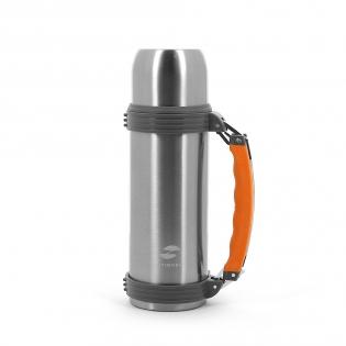 Термос Stinger 0,75 л серебристо-оранжевый