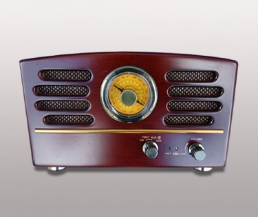 Радио красное дерево