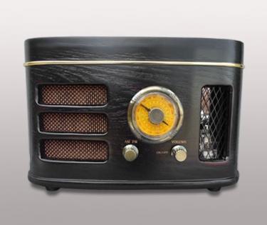 Радио магнитола черное дерево