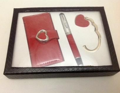 Набор для женщин ключница ручка и держатель для сумки