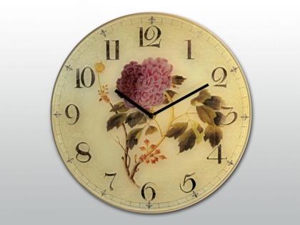 Часы настенные Цветок