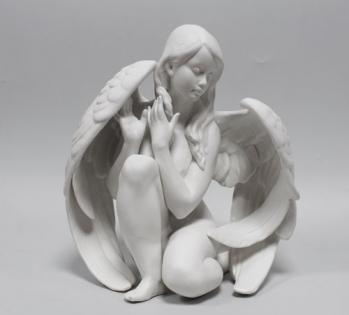 Статуэтка Ангел матовая