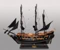 Модель Парусника Black Pearl черная жемчужина