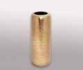 Ваза Go Style в виде трубы золото