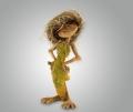 Фигурка из полистоуна кикимора лесная
