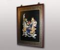 Панно Самураи ручная роспись