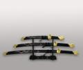Набор сувенирных самурайских мечей из трех штук