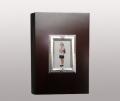 Фотоальбом отделка серебро искусственная кожа