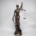 Статуэтка из полистоуна фемида богиня правосудия