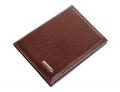 Бумажник для водителя S.Quire коричневая матовая кожа