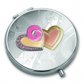 Зеркало косметическое Jardin D'Ete Два сердца