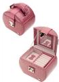 Шкатулка для украшений Jardin D'Ete бежевый розовый цвет