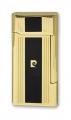 Зажигалка кремниевая Pierre Cardin черный лак золото