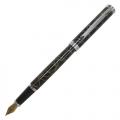 Перьевая ручка Pierre Cardin Evolution гравировка хром позолота 18К