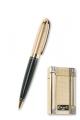 Набор зажигалка и ручка Caseti сплав цинка кристаллы Swarovski