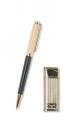 Набор зажигалка и ручка Caseti сплав цинка и позолота