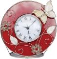 Часы Красный глянец JARDIN D'ETE
