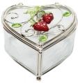 Шкатулка в форме сердца JARDIN D'ETE Клубничная поляна