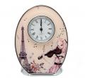 Часы овальные JARDIN D'ETE Парижские грезы