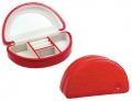 Мини шкатулка для украшений JARDIN D'ETE 4 отделения красный цвет